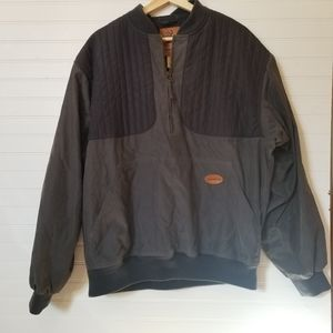 Browning Grey Quarter Zip Pullover
